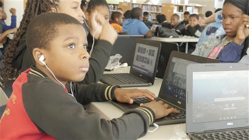 "Middle and High School Students Mark National Computer Science Week with An ""Hour of Code"""