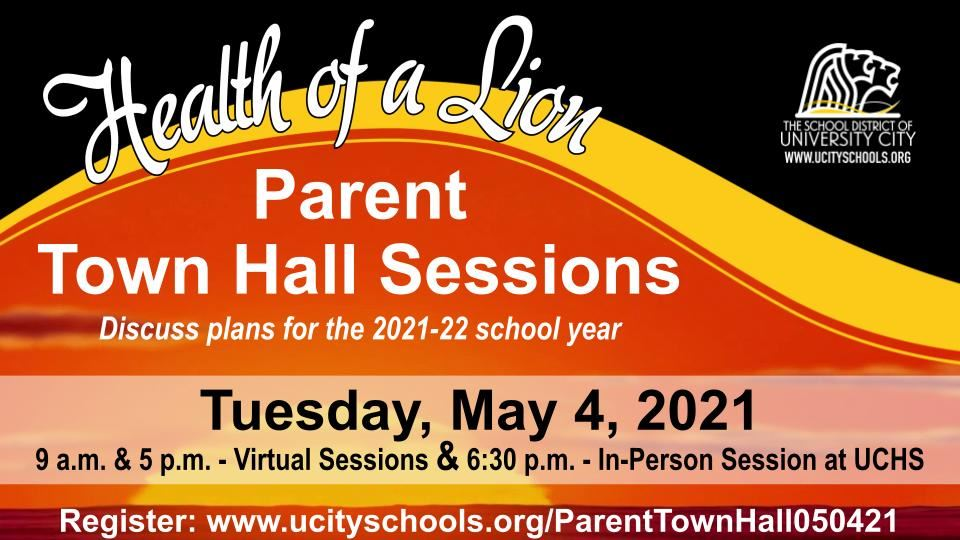Parent Town Hall 050421