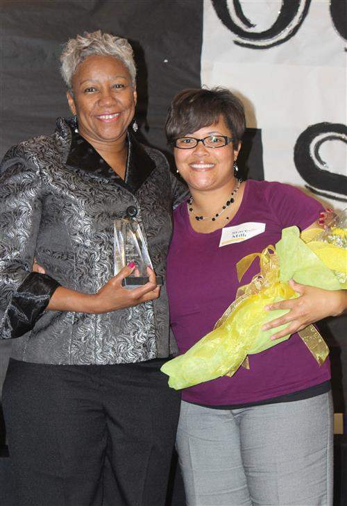 past Educational Support Person of the Year recipients