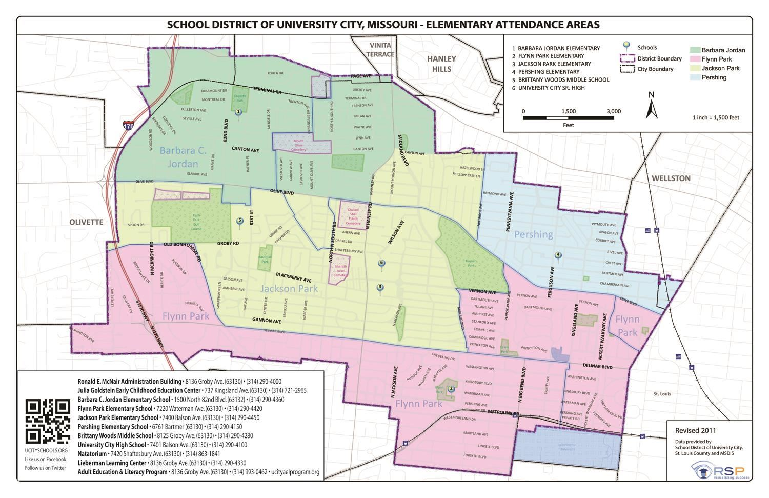 District Elementary Boundary Map