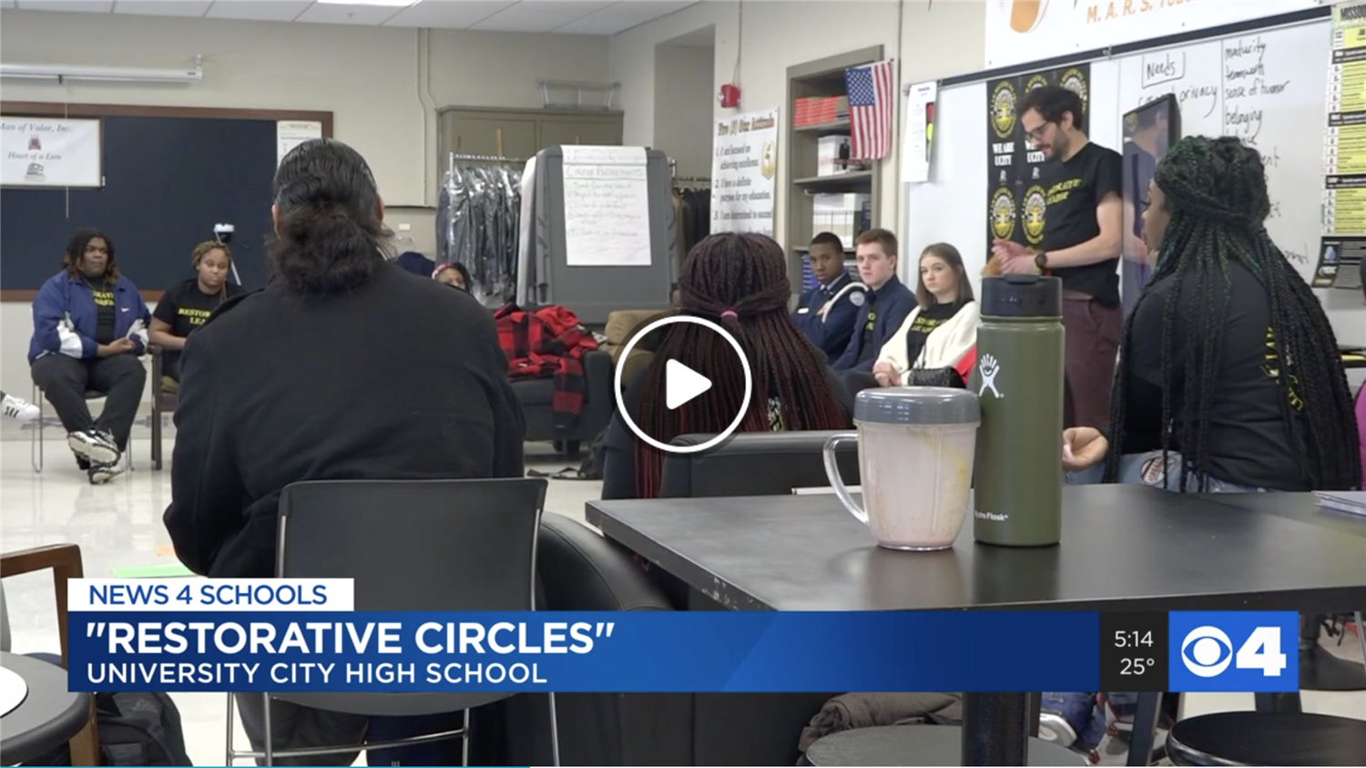 UCHS Uses New Tool to Resolve Conflicts KMOV 4