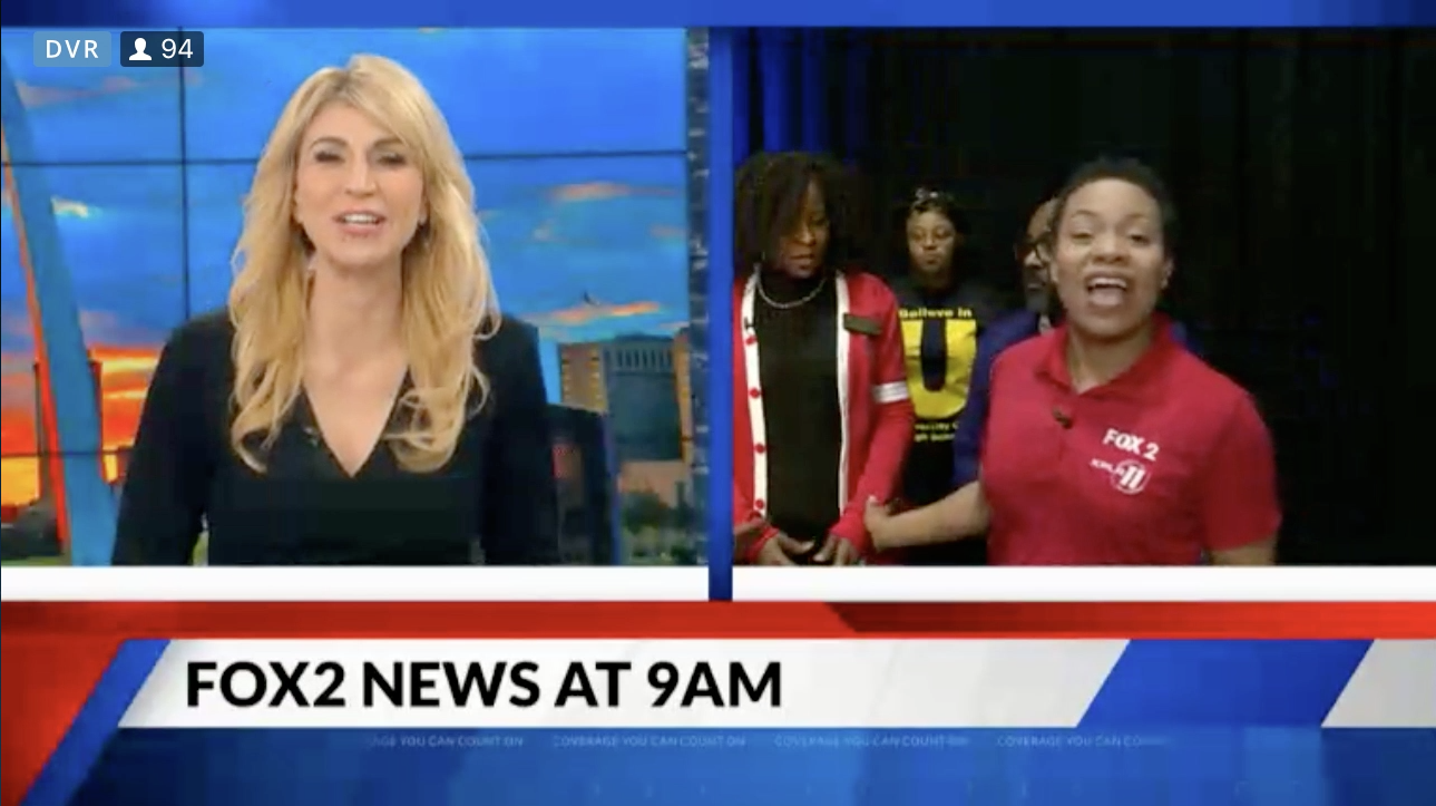 Fox2 News at 9AM: University City High School Represents